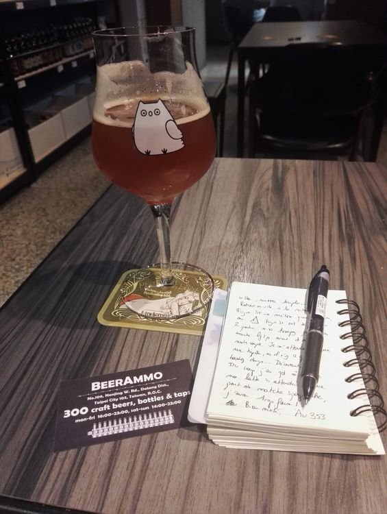blog voyage taipei taiwan craft beer ammo