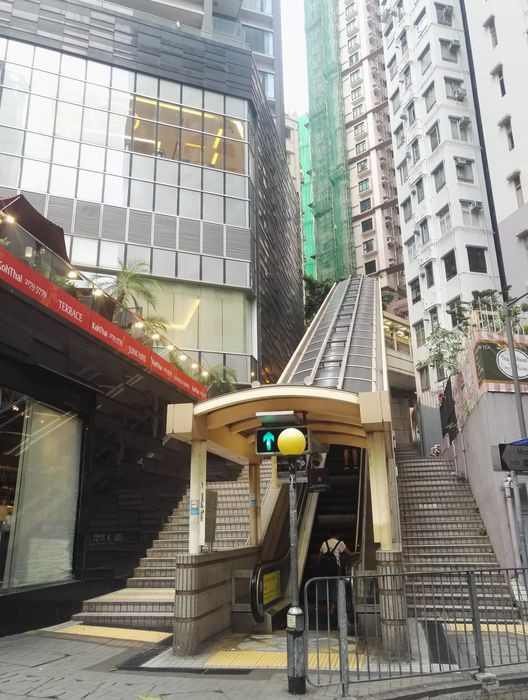 blog voyage hong kong escalators mid levels