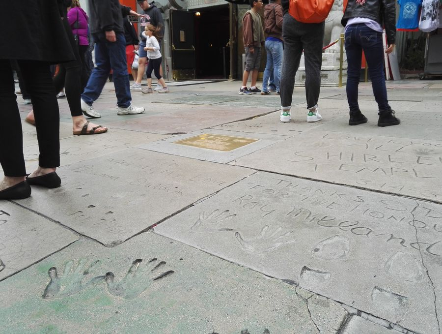 blog voyage los angeles chinese theater hollywood walk of fame