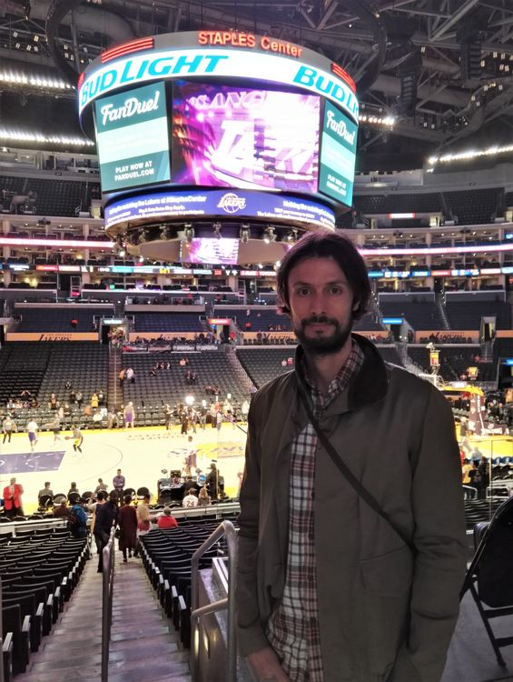 blog voyage los angeles basket nba staples center lakers