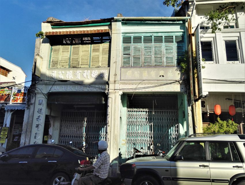 penang blog voyage georgetown architecture maisons traditionnelles