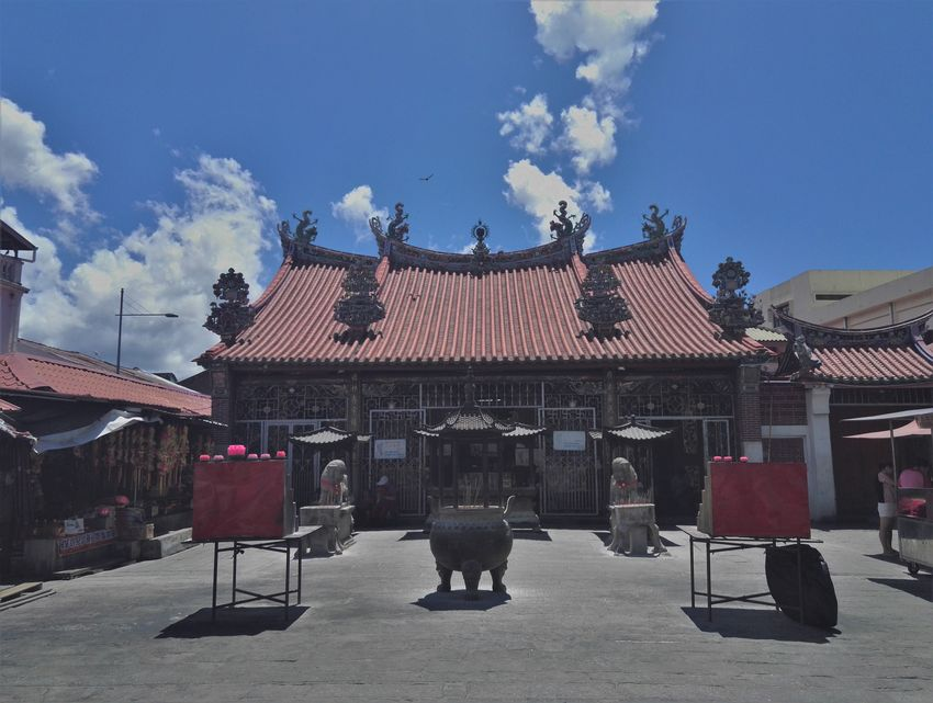 penang blog voyage georgetown temple gooddess mercy