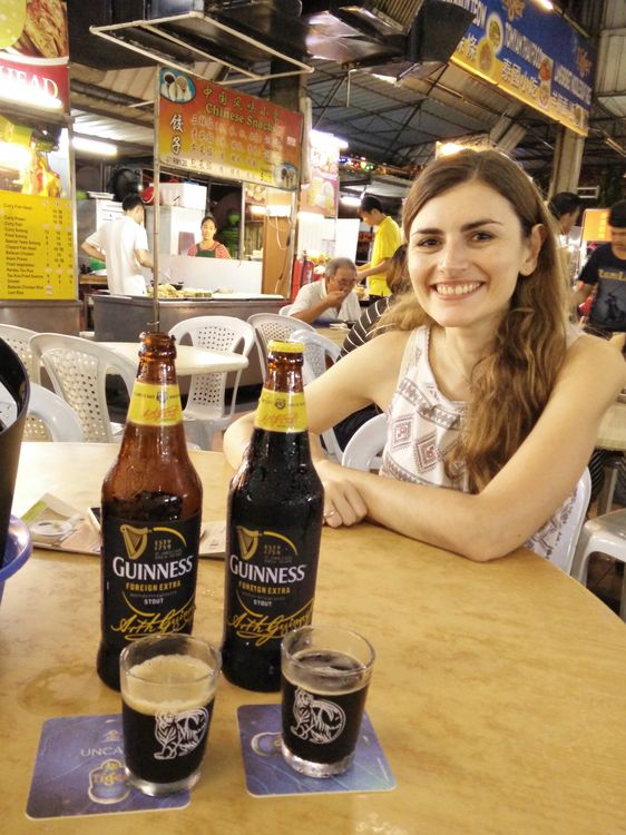 hawker center penang georgetown blog voyage guinness