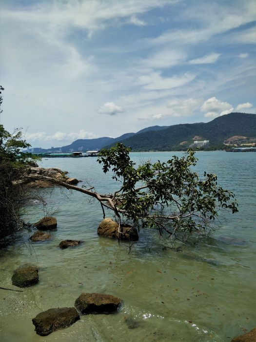 penang parc national trek blog voyage plage